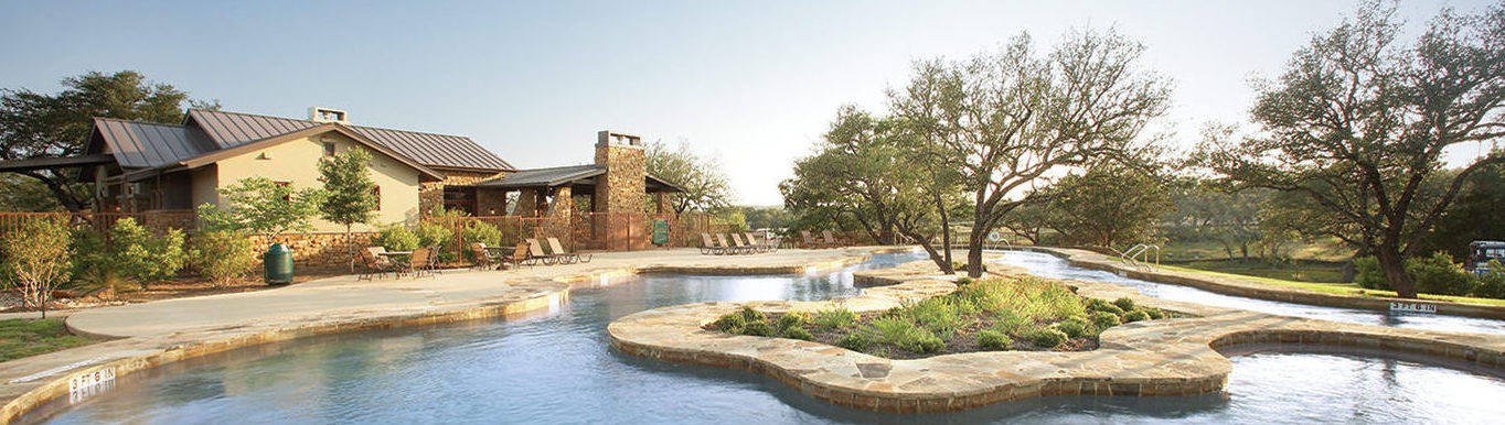 Lazy River Pool At The Amenity Center