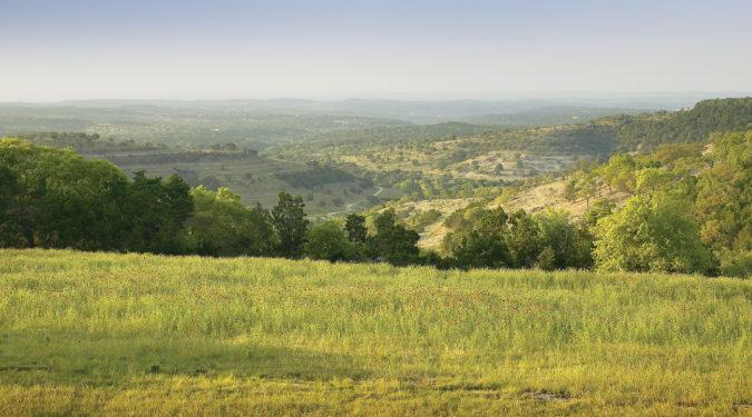 Belvedere's Hill Country Veiw